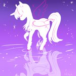 princess_twilight puffpink reflection twilight_sparkle