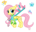 butterfly electric-mongoose fluttershy keyblade kingdom_hearts transparent