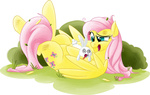 angel fluttershy injured ruby-hooves transparent