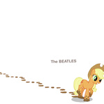 album_cover applejack casual_viewing parody the_beatles the_beatles_(album)