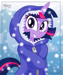 coat killryde snowing twilight_sparkle winter