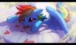 heart highres hioshiru-alter pillow rainbow_dash