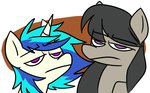 artofthepony octavia_melody reaction_image vinyl_scratch
