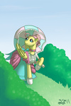alipes dress fluttershy umbrella