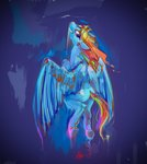 absurdres alumx flying highres rainbow_dash