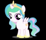filly highres moongaze princess_celestia transparent vector