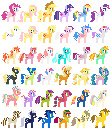 applejack applejack_(g1) bitta_luck cheap_recolors confetti_(g1) dewdrop_dazzle firecracker_burst firefly fluttershy g1 g3 locket lowres main_six needsmoarg4 pinkie_pie pixel_art ploomette posey princess_amethyst rainbow_dash rainbow_wishes rarity redesign skywishes_(g4) sparkler sprinkle_stripe sugarcup sunny_rays surprise tealove tracks transparent twilight twilight_sky twilight_sparkle