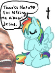 artist_unknown bible happy_10k_everybody jesus rainbow_dash thanks_naruto wtf