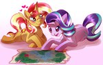 candychameleon heart map shipping starlight_glimmer sunset_shimmer