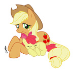 apple_bloom applejack littletiger488