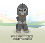 anowia crossover guard_pony ponified the_elder_scrolls