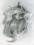 maytee portrait princess_luna traditional_art