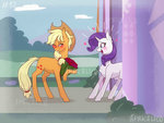 applejack feellikeaplat rarijack rarity shipping