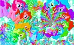 420 animated artist_unknown fractal pinkie_pie psychedelic