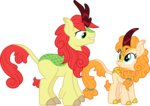 bright_mac cloudyglow highres kirin pear_butter species_swap vector