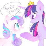 pacocha_n princess_flurry_heart princess_twilight twilight_sparkle