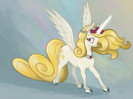 original_character princess spectralunicorn yellowstar