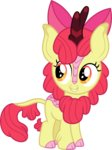 apple_bloom cloudyglow highres kirin species_swap vector