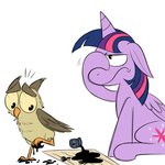 ink karpet-shark letter owlowiscious princess_twilight twilight_sparkle