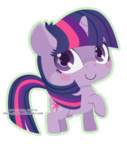 chibi miss-glitter transparent twilight_sparkle