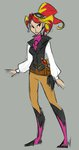 egophiliac goggles humanized steampunk steamquestria sunset_shimmer