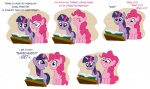 baked_bads book comic highres itchymango pinkie_pie twilight_sparkle
