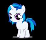 filly highres moongaze vinyl_scratch