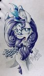 highres kirin mychelle rarity species_swap traditional_art