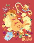 applejack apples cider justasuta pear rope zap_apples