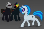 bux crossover daft_punk ponified vinyl_scratch