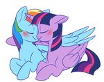 absurdres doodle-mark highres princess_twilight rainbow_dash shipping twidash twilight_sparkle