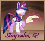 border goggles labcoat magic paleblank scroll twilight_sparkle