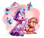 applejack coffee cup rarijack-daily rarity whitediamonds