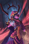 armor highres magic shamanguli twilight_sparkle