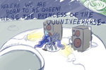 feather-chan moon princess_luna queen singing