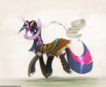boots dress foxinshadow goggles magic quill scroll steampunk twilight_sparkle