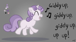 giddy_up singing sweetie_belle westy543