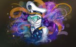 absurdres clothes glasses hat highres rarity skodadav uniform