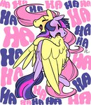 fluttershy highres princess_twilight rwlart shipping twilight_sparkle twishy
