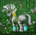 flowers forest highres jeneryfilly trees zecora