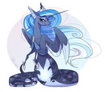 highres lamia marbola princess_luna species_swap