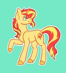 flaming-trash-can sunset_shimmer