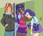 equestria_girls feellikeaplat humanized rarity sunset_shimmer twilight_sparkle