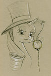 maytee monocle rarity sketch tophat