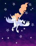 animated highres jackiebloom princess_celestia stars