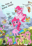 apple_leaves background_ponies daisy equestria_girls fleetfoot flutterbat fluttershy highres hinny_of_the_hills humanized kolshica madame_leflour mr_turnip pinkie_pie pumpkin_cake rocky sir_lintselot species_confusion twinkleshine