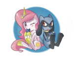 berry crossover filly pokemon princess_celestia riolu sallymon