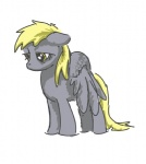 artist_unknown baww derpy_hooves sad