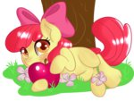apple_bloom apples flowers highres pon3splash transparent