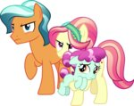 absurdres background_ponies cloudyglow highres vector